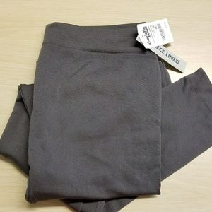 NWT fleece-lined leggings size M/L